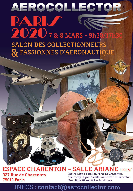 Aerocollector Paris 2020 : Salon Des Collectionneurs