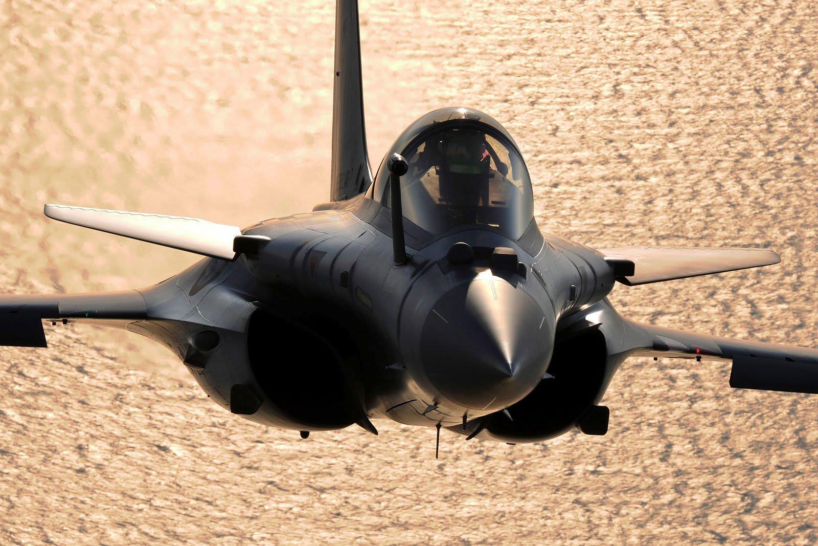 Rafale in flight