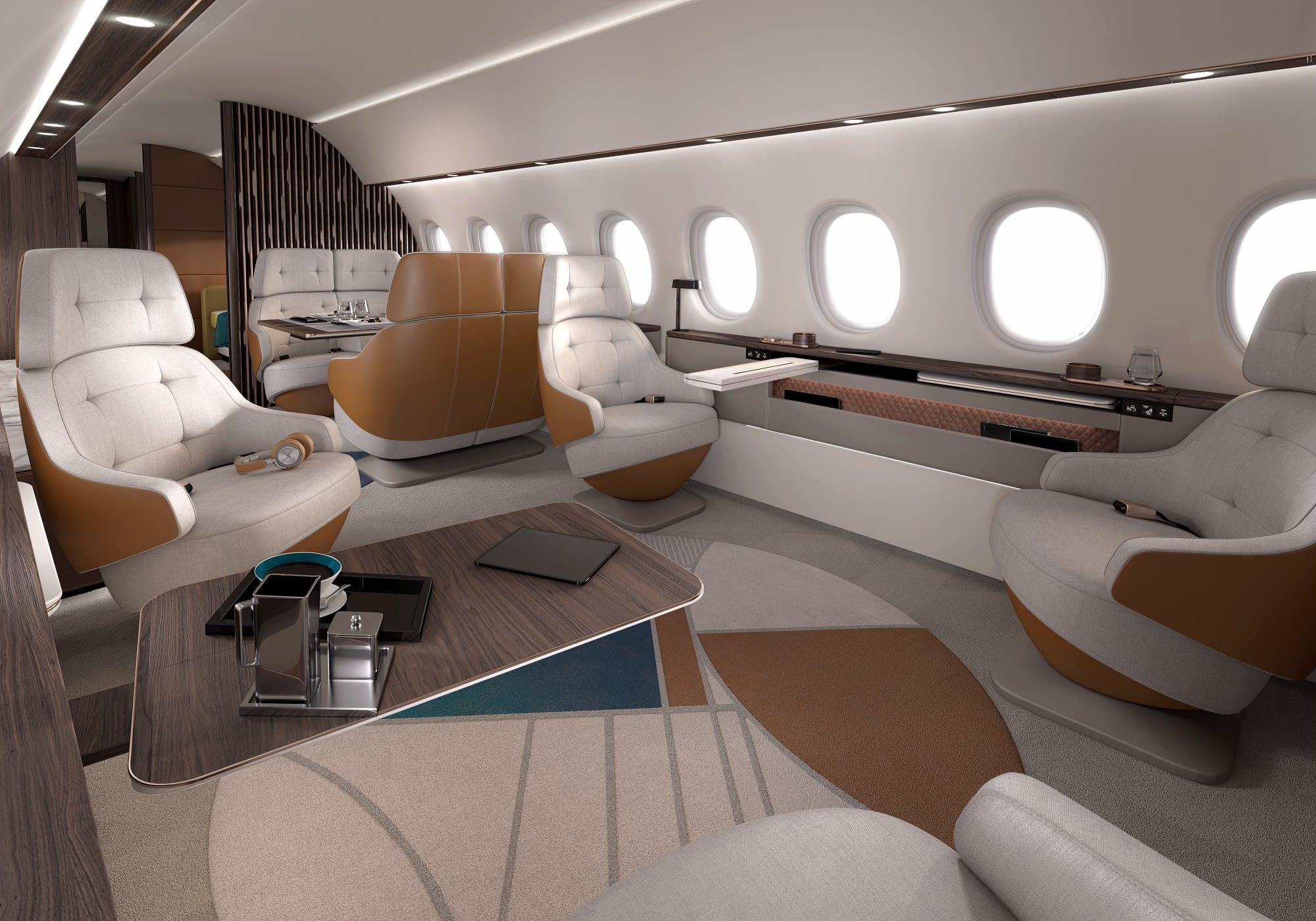 Falcon 10X Cabin