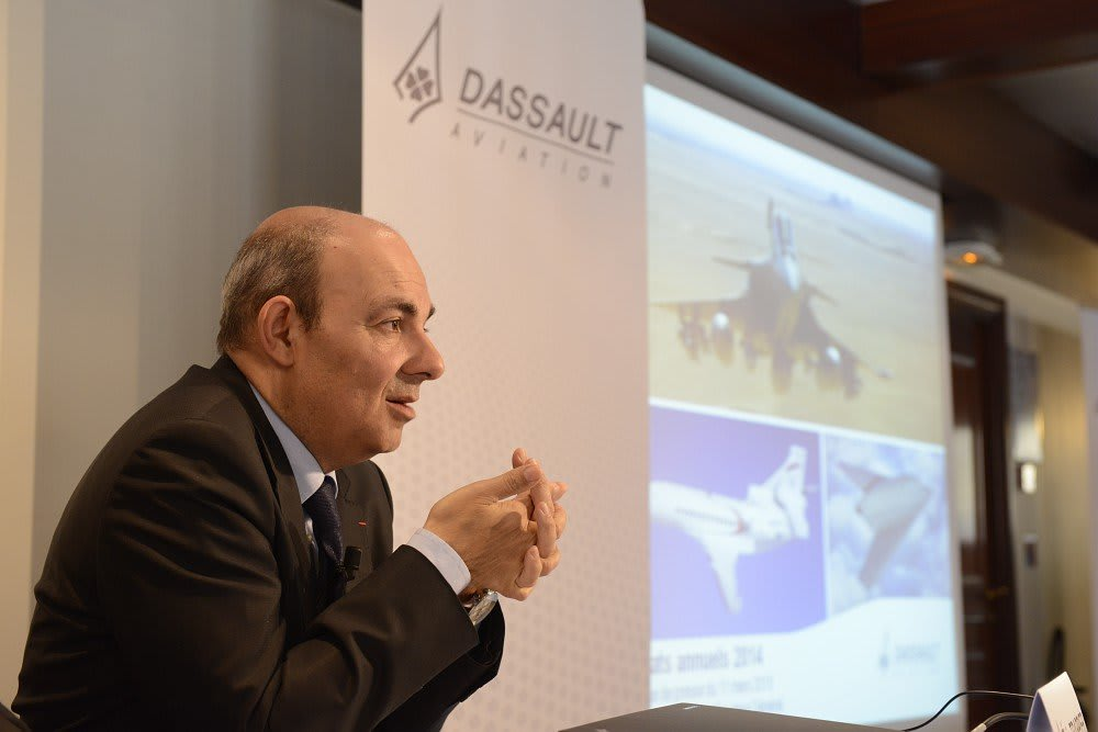 Eric Trappier, Chairman and CEO of Dassault Aviation © Dassault Aviation - S. Randé