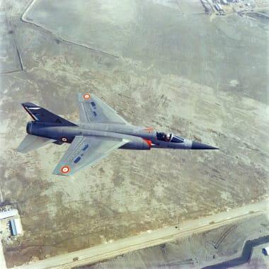 Mirage F1 en vol