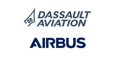 Logo Dassault Aviation et Airbus
