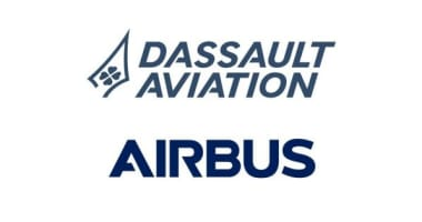 Dassault Aviation and Airbus Logo