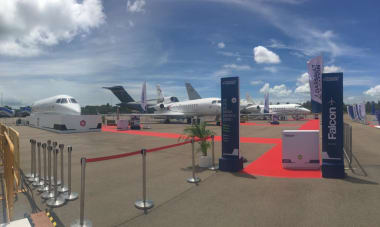 Singapore Air Show 2020 - Statique Dassault Aviation