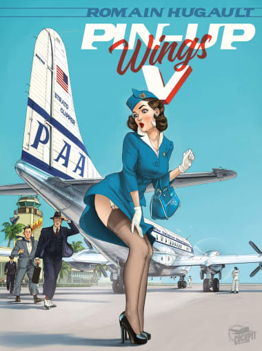 Couverture Pin-up Wings Volume 5