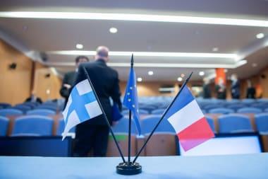 Un séminaire industriel «virtuel» franco-finlandais initié par le Ministère de la Défense Finlandais avec Business Finland et organisé par le GIFAS et l'AFDA (l'Association of Finnish Defence Aerospace)