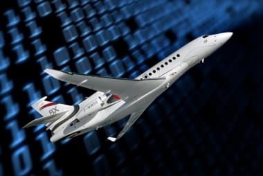 Falcon 8X et Big Data