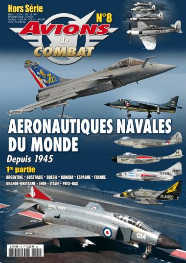 Couverture magazine Avions de combat hors série 8