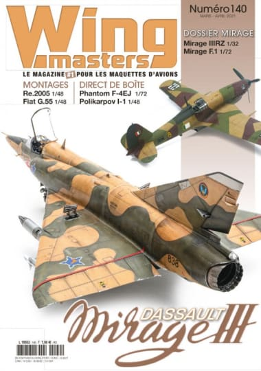 Couverture Magazine wingmasters n°140