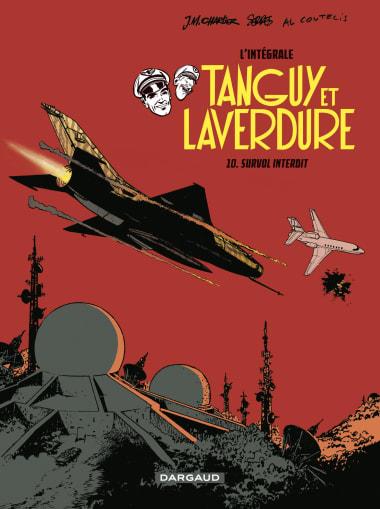 Couverture BD Les aventures de Tanguy et Laverdure - Intégrales - Tome 10