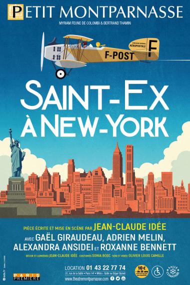 affiche Pièce de théâtre : « Saint-Ex à New-York »