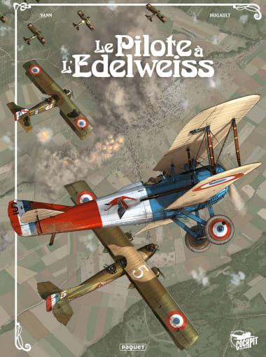 couverture BD. « Le Pilote à l'edelweiss » Intégrale, 15 ans