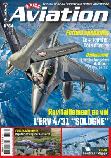 couverture Magazine – RAIDS Aviation N°54