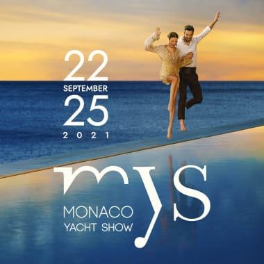 Affiche du Monaco Yacht Show 2021