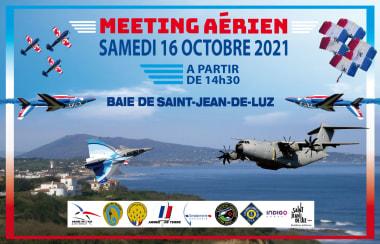 Affiche du meeting Saint-Jean-de-Luz