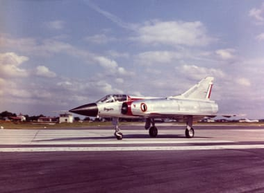 Mirage III C on the ground