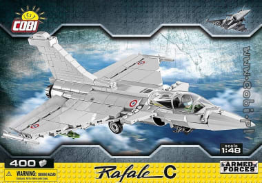 Rafale C in Cobi interlocking bricks