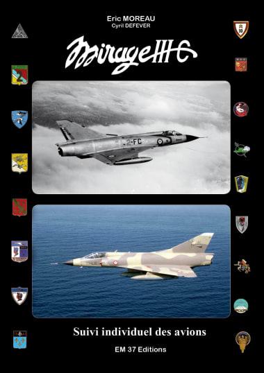Book Mirage IIIC, suivi individuel des avions