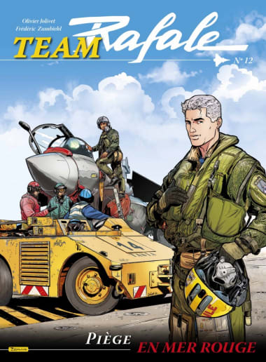 "Comic Book: ""Team Rafale, Volume 12 - Trap in the Red Sea*"""