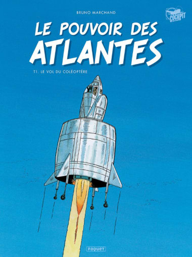 """Comic Book: """"The Power of the Atlanteans – volume 1, The Flight of the Beetle"""""""