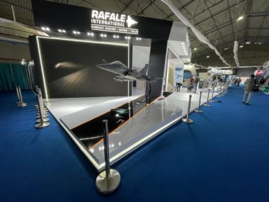 Aero India 2021 - Dassault Aviation Booth