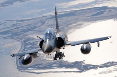 Mirage 2000D in flight