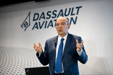 Éric Trappier, Chairman and CEO of Dassault Aviation