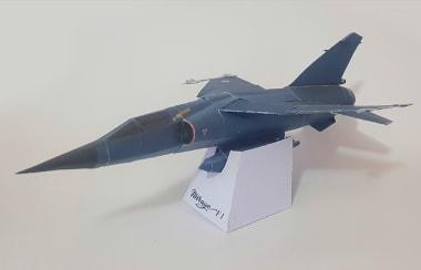 Mirage F1 Papercraft