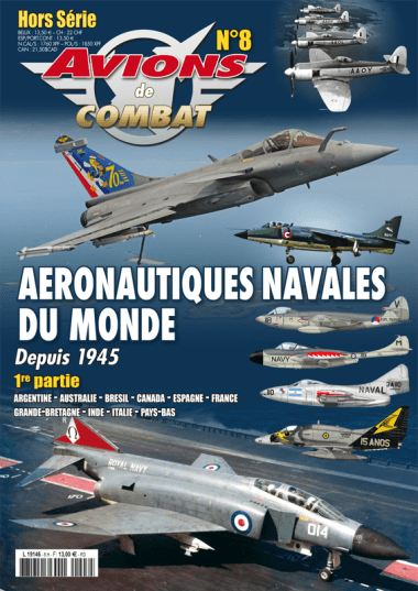 Avions de combat Special issue n°8 magazine cover