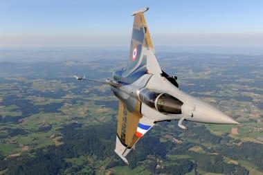 Rafale C in flight