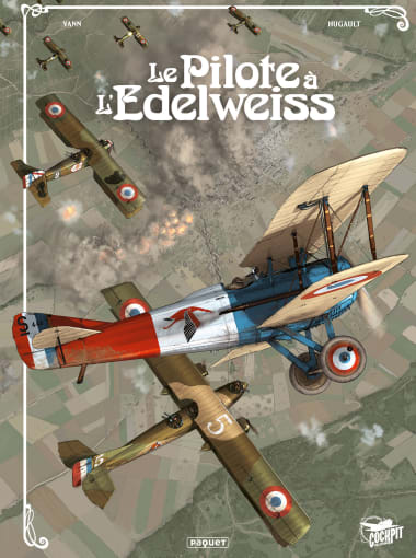 """Comic Bookcover. """"The Pilot in the Edelweiss"""" Complete Collection, 15 years"""