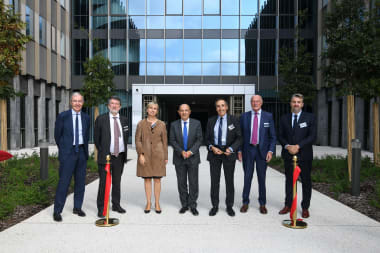 Inauguration of the new building dedicated to design and operations