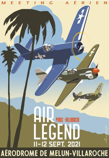 """Air show """"Paris-Villaroche Air Legend"""""""
