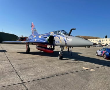 80th anniversary of the fighter squadron 2/5 Île-de-France